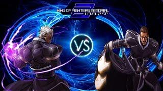 getlinkyoutube.com-[KOFM Lv.2 SP GamePlay] Boss Original Zero (Me) vs Clone Zero (Cpu)
