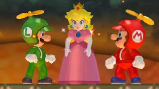 getlinkyoutube.com-New Super Mario Bros. Wii - All Castle Levels (Worlds 1-8)