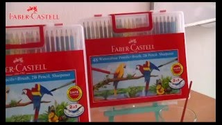 getlinkyoutube.com-Faber-Castell Water Colour Pencil Tutorial - Glossy Effect