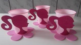 getlinkyoutube.com-como fazer lembrancinha com copo descartavel