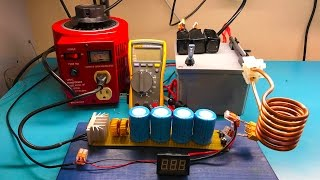 getlinkyoutube.com-Testing the Portable Induction Heater and How to Build One