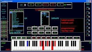 getlinkyoutube.com-byyARRANGER Pianist PRO (programming YILMAZ HAK)