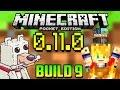 Build 9 - Skin Packs - Novedades y Errores - Minecraft PE 0.11.0 - Descarga