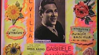 Claudio Villa (  LE INTERVISTE  ) con Patrizia Baldi Villa....01 / 10 /1987...''1''