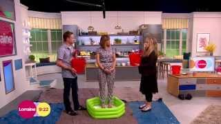 getlinkyoutube.com-[HD] Kate Garraway's Ice Bucket Challenge