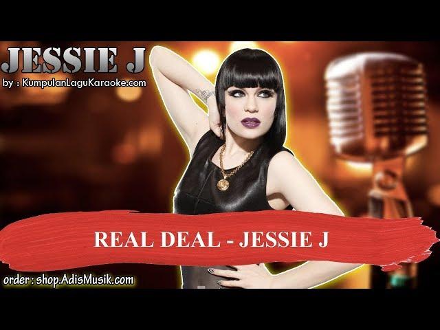 REAL DEAL - JESSIE J Karaoke