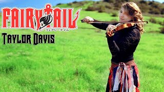 getlinkyoutube.com-Fairy Tail Theme (Violin) Taylor Davis