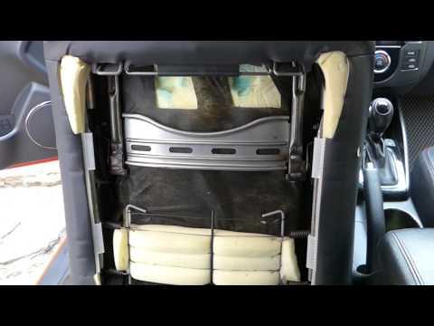 Kia cerato koup снятие облицовки сиденья