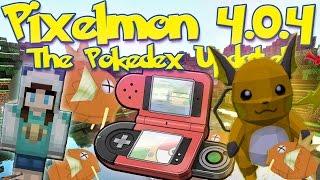 getlinkyoutube.com-Pixelmon 4.0.4 Update Review! | NEW POKÉDEX! Electrocuting Pixelmon! New Items!