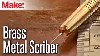 getlinkyoutube.com-Milling a Metal Scriber