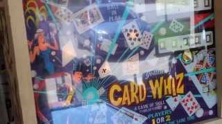getlinkyoutube.com-1976 Gottlieb CARD WHIZ (Royal Flush) pinball machine