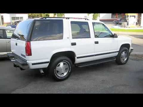 1998 Chevrolet Tahoe Problems Online Manuals And Repair