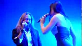 "getlinkyoutube.com-""Phantom Of The Opera"" - Floor Jansen & Joacim - Christmas Metal Symphony 2013 Bochum"