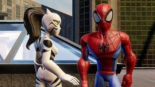 getlinkyoutube.com-Disney Infinity 2.0 Edition - Spider-Man - Part 1