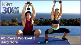 getlinkyoutube.com-Ab Power Workout 2: Hard Core Training | 30 DAY 6 PACK ABS