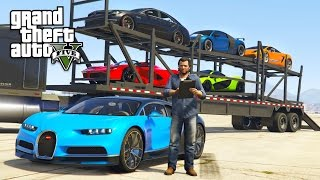 getlinkyoutube.com-GTA 5 Real Life Mod #32 - TRANSPORTING EXOTIC SUPERCARS!! (GTA 5 Mods)
