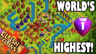 "getlinkyoutube.com-Clash of Clans - WORLD'S HIGHEST 2 ""#1 PLAYER IN THE WORLD ATTACK REPLAY!"" + LEGENDS LEAGUE REPLAYS!"