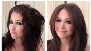 getlinkyoutube.com-Silky Smooth Blowout/Blowdry Tutorial for Coarse, Frizzy & Curly Hair