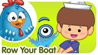 getlinkyoutube.com-ROW ROW ROW YOUR BOAT with lyrics - Lottie Dottie Chicken