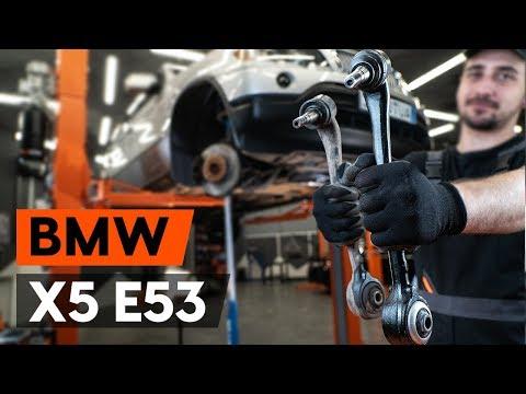 Как да сменим предни носач носач на кола наBMW X5 (E53) (ИНСТРУКЦИЯ AUTODOC)