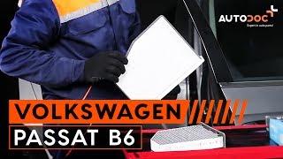 getlinkyoutube.com-Jak wymienić Filtr kabinowy w VW PASSAT B6 [TUTORIAL]