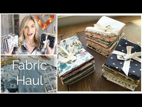 Fabric Haul featuring Observer, Nightfall and Heartland fabrics