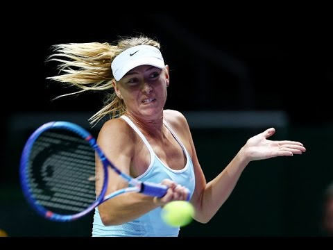 Maria Sharapova vs Flavia Pennetta | 2015 WTA Finals Highlights