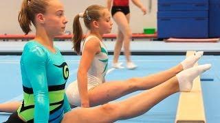 getlinkyoutube.com-Женская спортивная гимнастика в Нидерландах (2013) [Гимнастика → Разное]