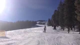 Skiing Totally Topless at Breckenridge!