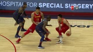 getlinkyoutube.com-USA vs China Exhibition Game Full Highlights
