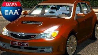 getlinkyoutube.com-Euro Truck 2 Brasil:EAA mapa - Viagem de Carro / Subaru Impreza WRX STI
