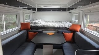 getlinkyoutube.com-MAN 4WD 18.290 overland expedition vehicle camper: INTERIOR deisign, systems & equipments