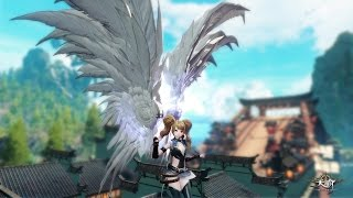 getlinkyoutube.com-Revelation Online Open Beta Flying Around White Wings