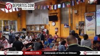Así se vivió el partido Mexico vs USA en Chitown Futbol en Chicago