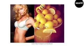 getlinkyoutube.com-Heidi Klum unterzieht sich einer knallharten Zitronensaftdiät