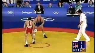 getlinkyoutube.com-Brandon Slay (USA) vs. Bouvaisa Saitiev (Russia)