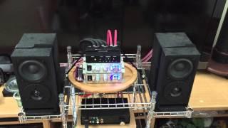 getlinkyoutube.com-Stereo誌のチャンネルデバイダーとDigiFi誌のNo.15、No.16をLepai2台で鳴らす。