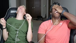 REACTING TO OLD VIDEOS WITH MINIMINTER