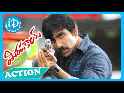 Mirapakay Movie - Back 2 Back Action Scene - Ravi Teja