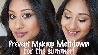 getlinkyoutube.com-Sweat Proof Makeup for Summer/Hot/Humid Climate | Makeup By Megha