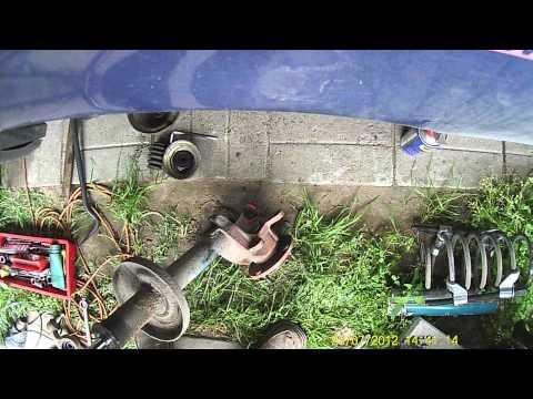 Ford Sierra. Ремонт передней подвески. Часть9