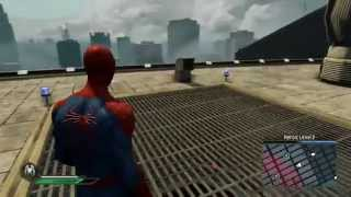 getlinkyoutube.com-The Amazing Spider-Man 2 Video Game - TASM2 suit free roam