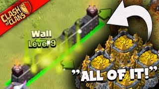 """getlinkyoutube.com-Clash of Clans: """"WE SPENT IT?"""" CRAZY BASES GIVE US MILLIONS"""
