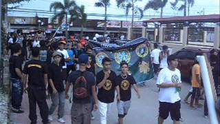 TAU GAMMA PHI / TRISKELION GRAND FRATERNITY 43rd Anniversary Valenzuela City parade