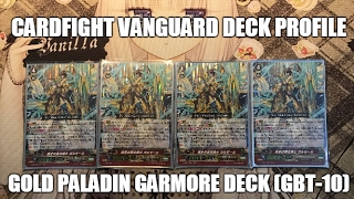 getlinkyoutube.com-Cardfight Vanguard: Gold Paladin Garmore Deck (GBT-10)