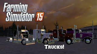 getlinkyoutube.com-Farming Simulator 2015: Mod Spotlight #41: Trucks!