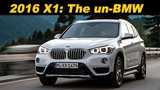 2016 / 2017 BMW X1 Review and Road Test | DETAILED in 4K UHD