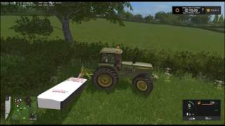 Farming Simulator 17 - Coldborough park farm - episode 5 - hay bales