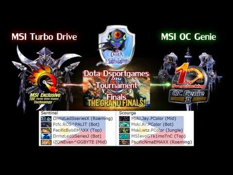 DOtAHL 198 - [MSI Allstar G1] MSI Turbo Drive vs MSI OC Genie