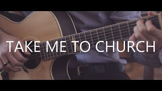 getlinkyoutube.com-Take Me To Church - Hozier (fingerstyle guitar cover by Peter Gergely)